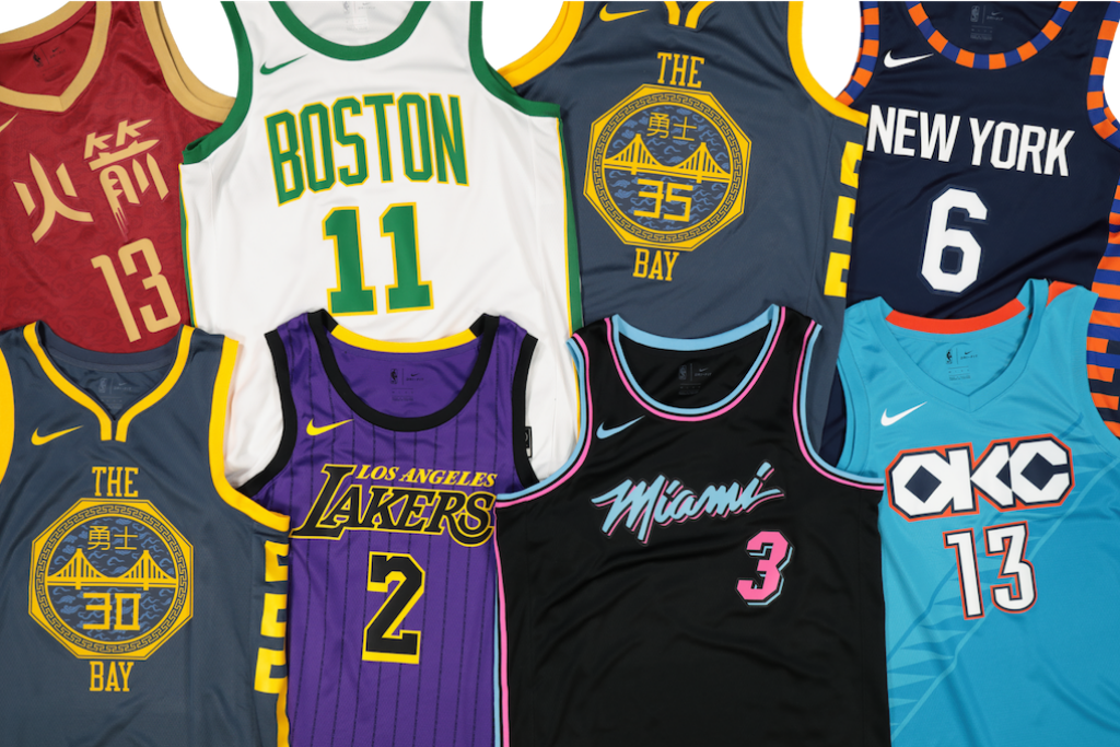 new concept cced8 52b12 Cop These NBA City Edition Jerseys – Culture Kings NZ