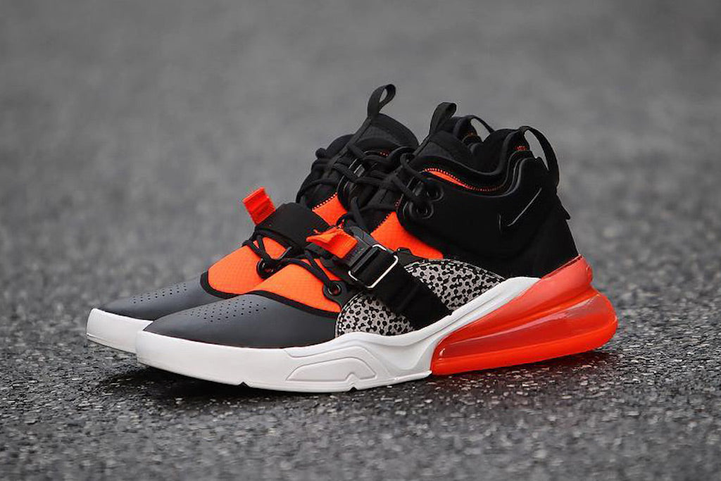 Nike Air Force 270: Bringing The Safari To The Streets