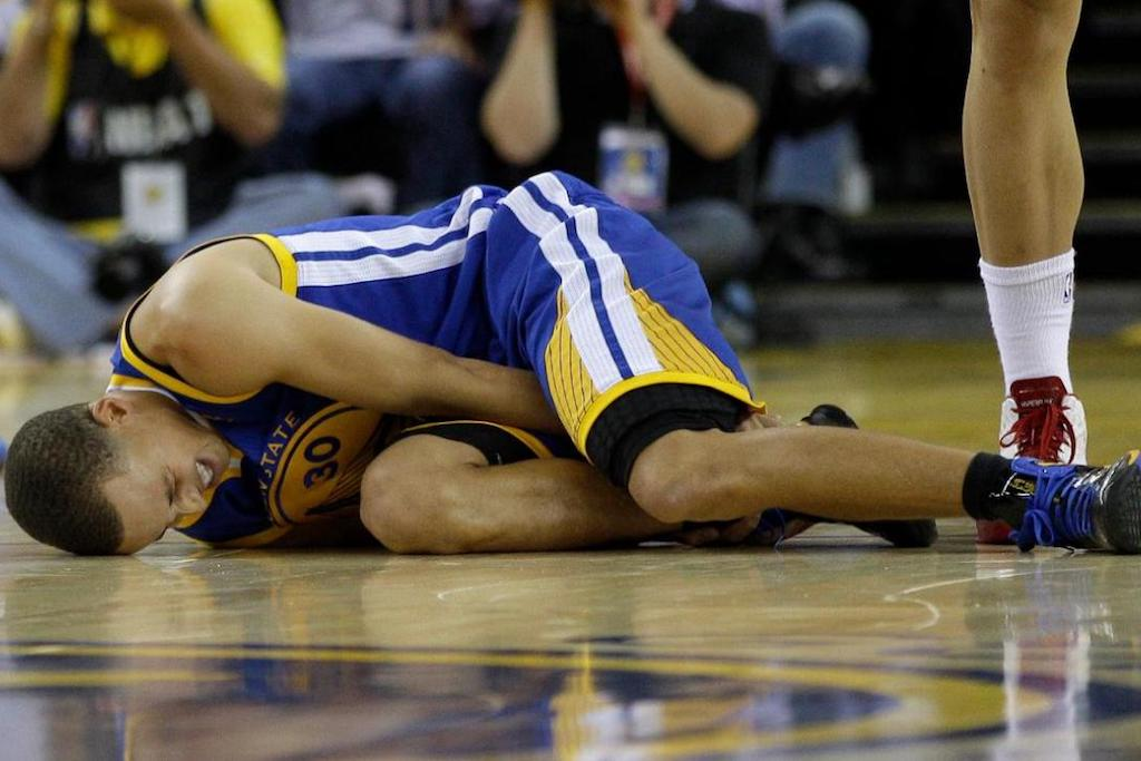 WATCH NOW: Chris Paul Breaks Stephen Curry's Ankles