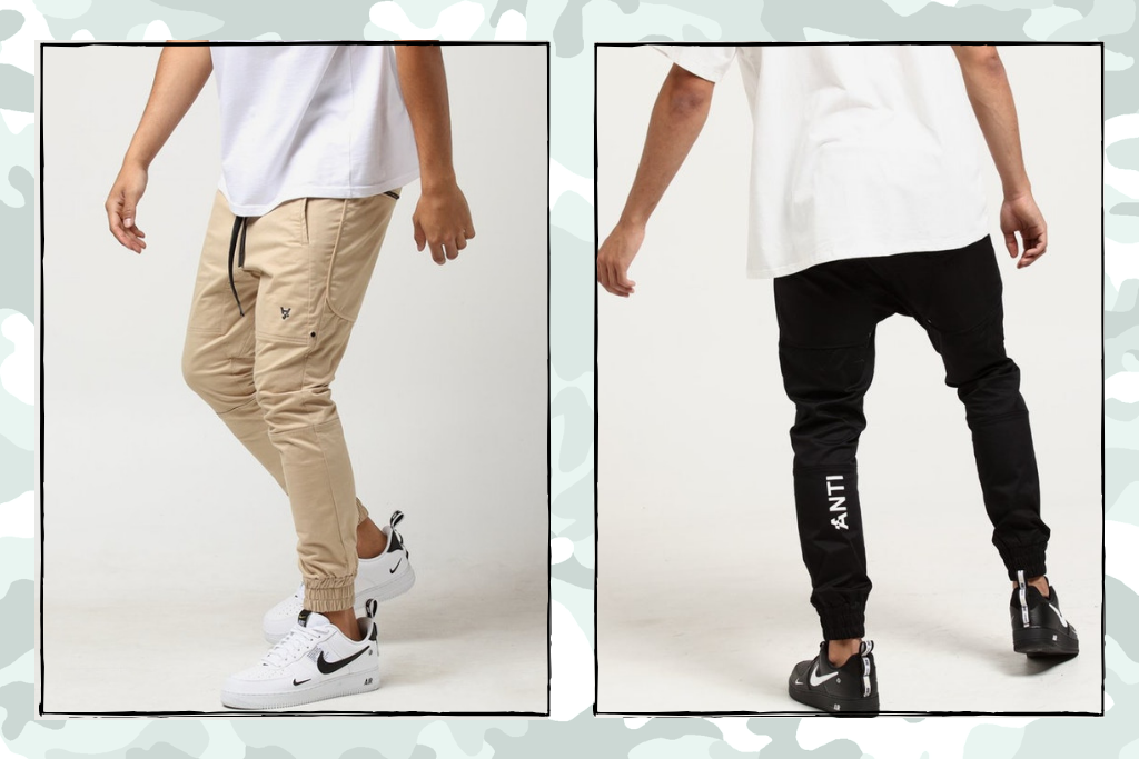 The Anti-Order Has Reupped These Fire Sneaker Pants