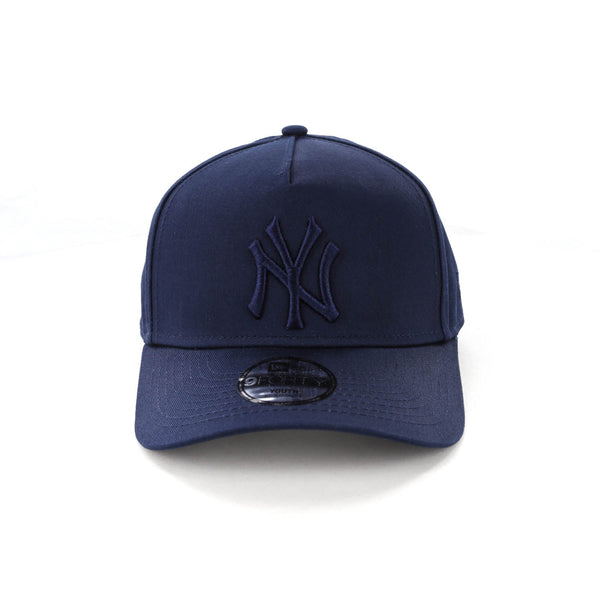 0338edbf7bbd9 New Era Youth New York Yankees 9FORTY A-Frame Strapback Teal – Culture  Kings NZ