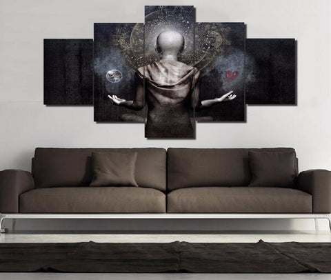 The Projection Wall Art Canvas Print