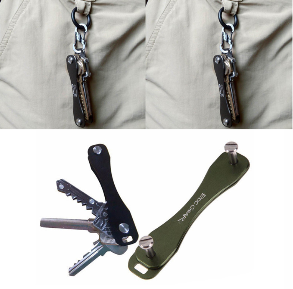 Pocket Key Holder & Keychain