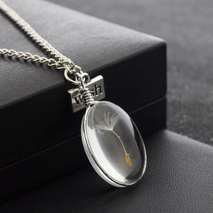 DANDELION WISH CRYSTAL NECKLACE