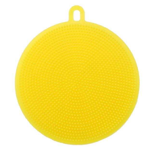 Multipurpose Food-Grade Antibacterial Silicone Smart Sponge - 6 Colors Available!