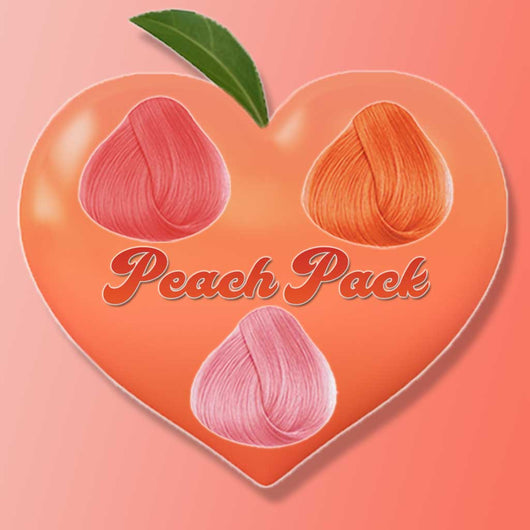 PEACH PACK - 3 JARS!