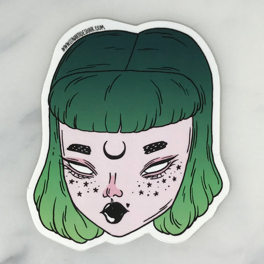Witch Babe Sticker