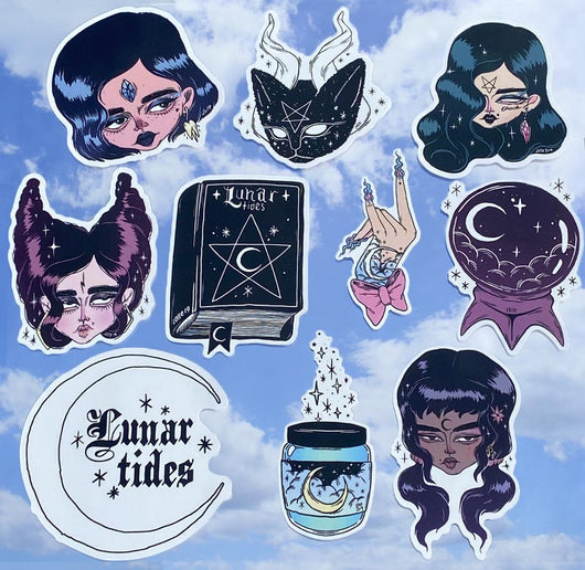 WITCH GANG STICKER PACK