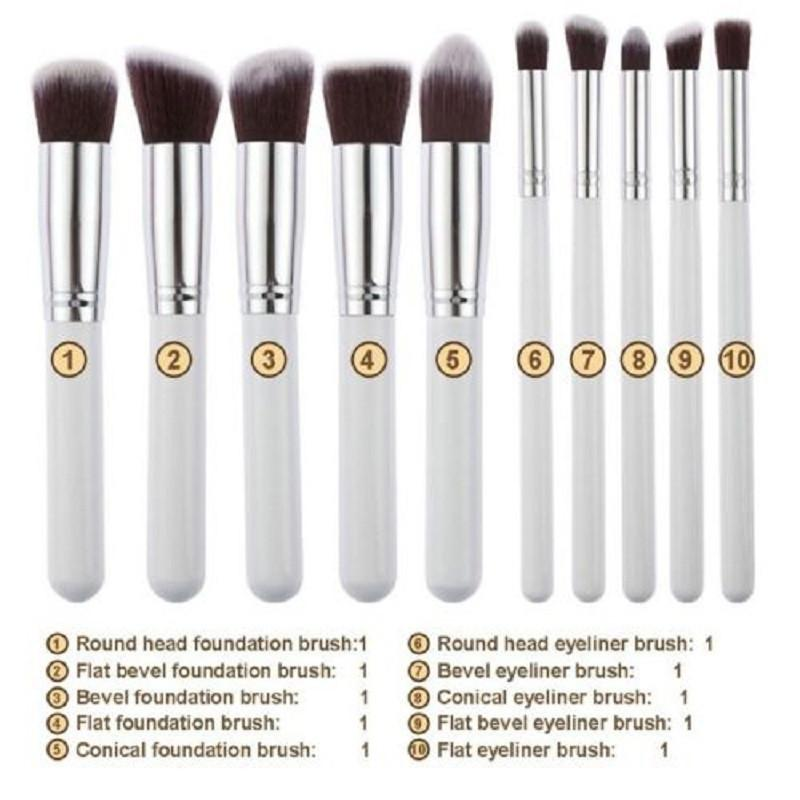 Pro Cosmetic Powder Brush Set - World Wide Lux Brands