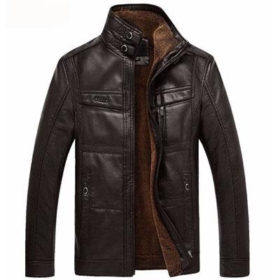 Mountaineer Leather Jacket - World Wide Lux Brands
