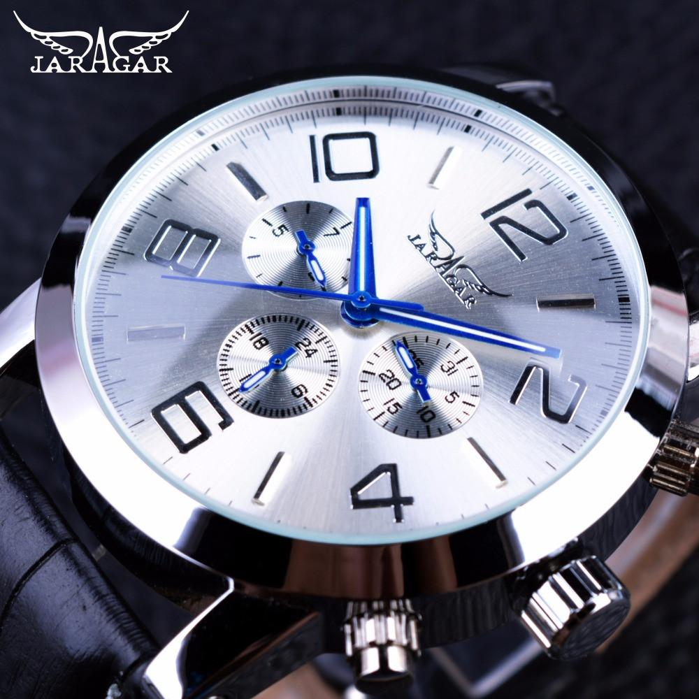 Blue Hands Display  Automatic Wristwatch - World Wide Lux Brands