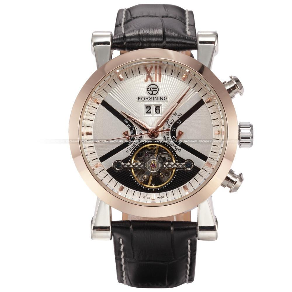 Gold Case Sport Mechanical Wristwatch - World Wide Lux Brands