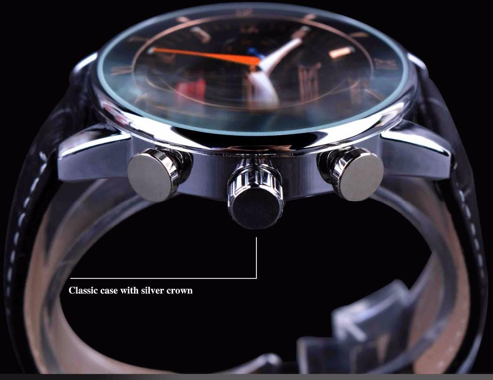 Luminous Hands Automatic Wristwatch - World Wide Lux Brands