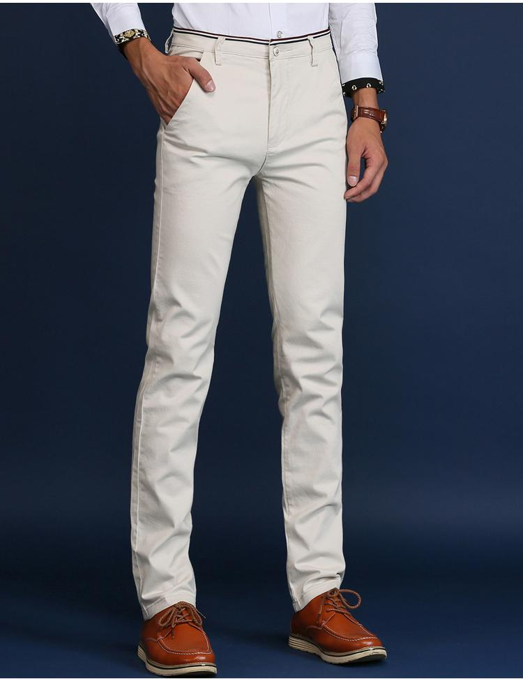 Slim Casual Pants - World Wide Lux Brands