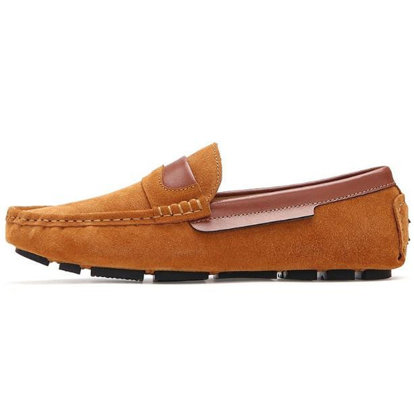 Suede Moccasin Loafers - World Wide Lux Brands