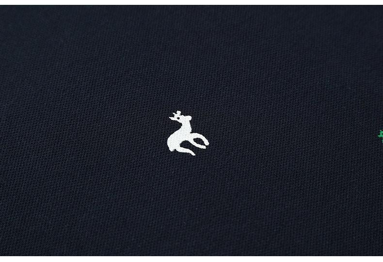 Cotton Animal Print Polo - World Wide Lux Brands