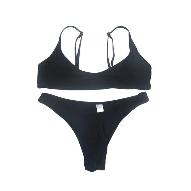 SPAGHETTI STRAP BIKINI - World Wide Lux Brands
