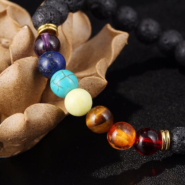 Chakra Mala Healing/ Balance/ Energy Beads - World Wide Lux Brands