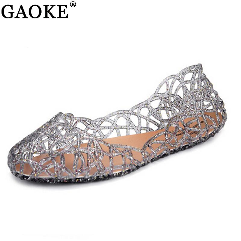 Sparkling Jelly Flat Sandals - World Wide Lux Brands