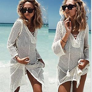 Crochet Beach Tunic - World Wide Lux Brands