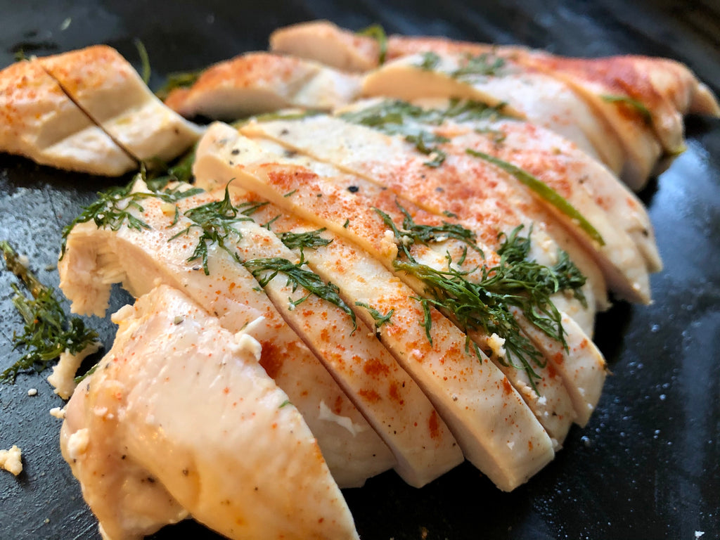 Orange Dill Baked Chicken