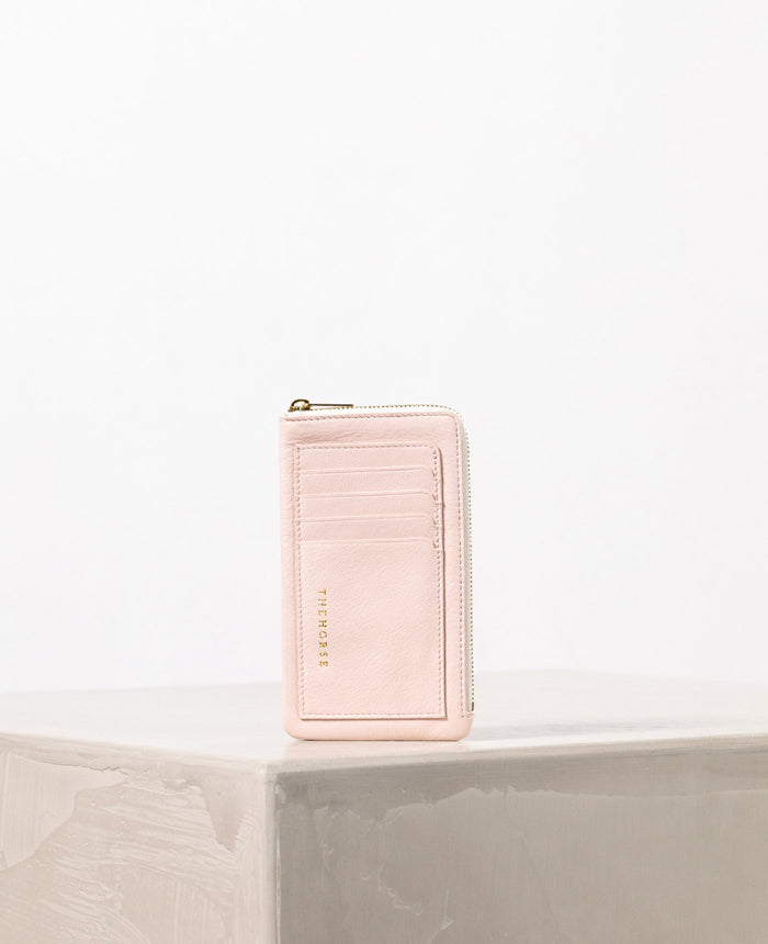 THE HORSE | IPHONE WALLET - BABY PINK