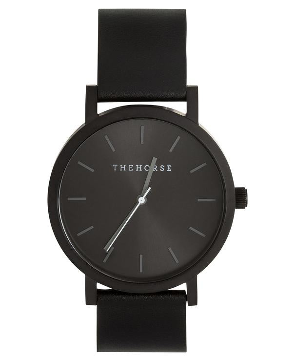 THE HORSE | MATTE BLACK / BLACK SUNRAY /  BLACK
