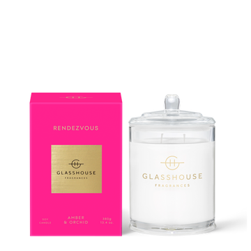 GLASSHOUSE | RENDEZVOUS - 380G CANDLE