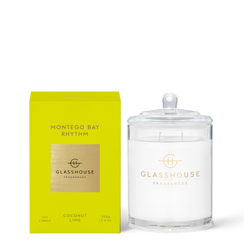 GLASSHOUSE | MONTEGO BAY RHYTHM - 360G CANDLE
