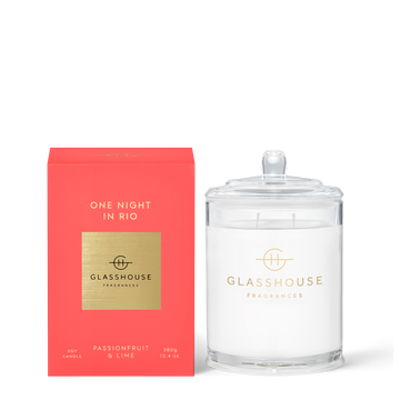 GLASSHOUSE | ONE NIGHT IN RIO - 380G CANDLE