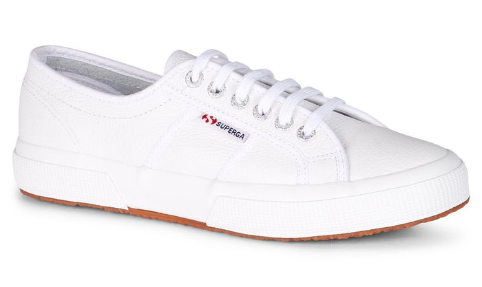 SUPERGA | 2750 EFGLU LEATHER  - WHITE