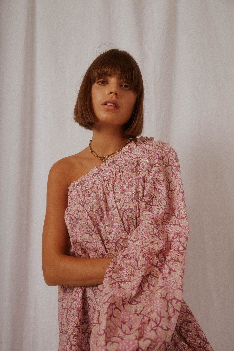 INDIAN SUMMER CO | SUNSET BLOUSE - ROSE