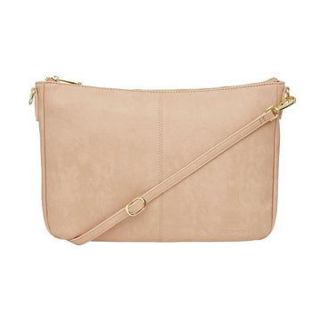 ELMS + KING | BOWERY SOFT SHOULDER BAG - NUDE PEBBLE