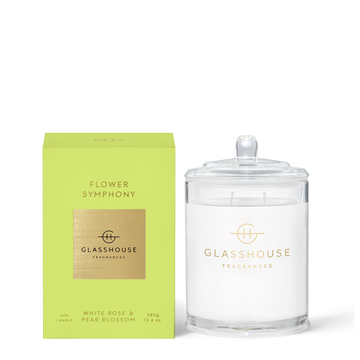 GLASSHOUSE | FLOWER SYMPHONY  - 380G CANDLE