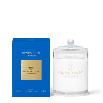 GLASSHOUSE | DIVING INTO CYPRUS - 380G CANDLE