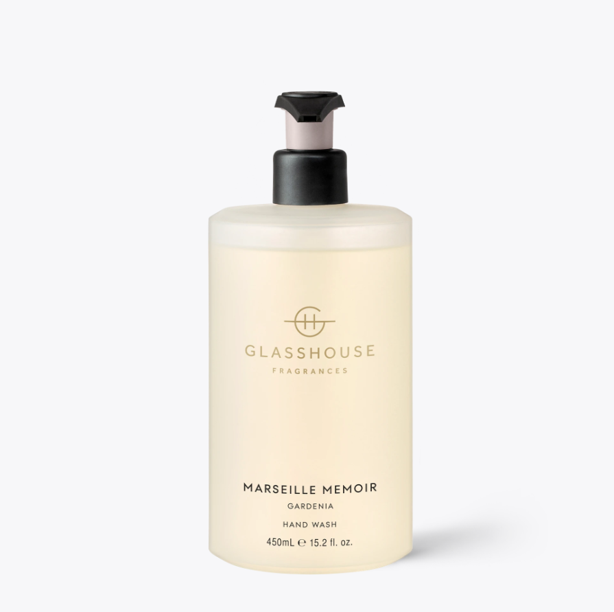 GLASSHOUSE | MARSIELLE MEMOIR - 450ML HAND WASH