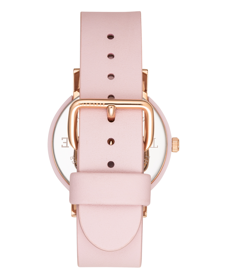 THE HORSE | THE RESIN: PINK / PINK DIAL / PINK LEATHER