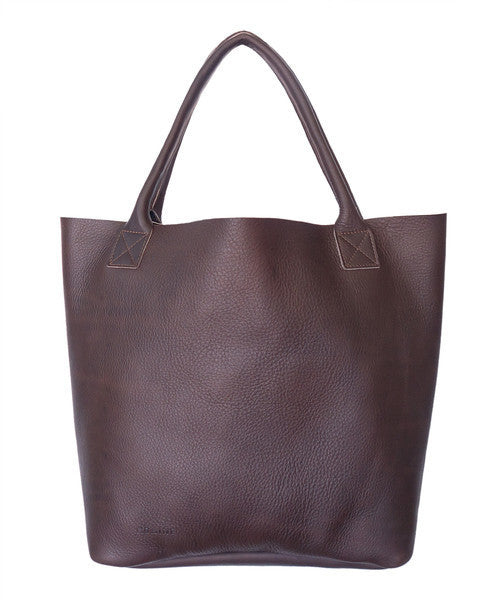 GRAINE | PORTSEA GETAWAY BAG - DARK CHOCOLATE