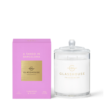 GLASSHOUSE | A TANGO IN BARCELONA - 380G CANDLE