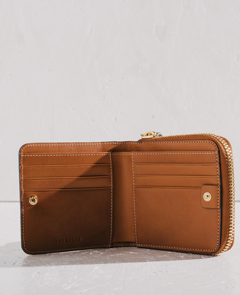THE HORSE | MINI BLOCK WALLET - TAN