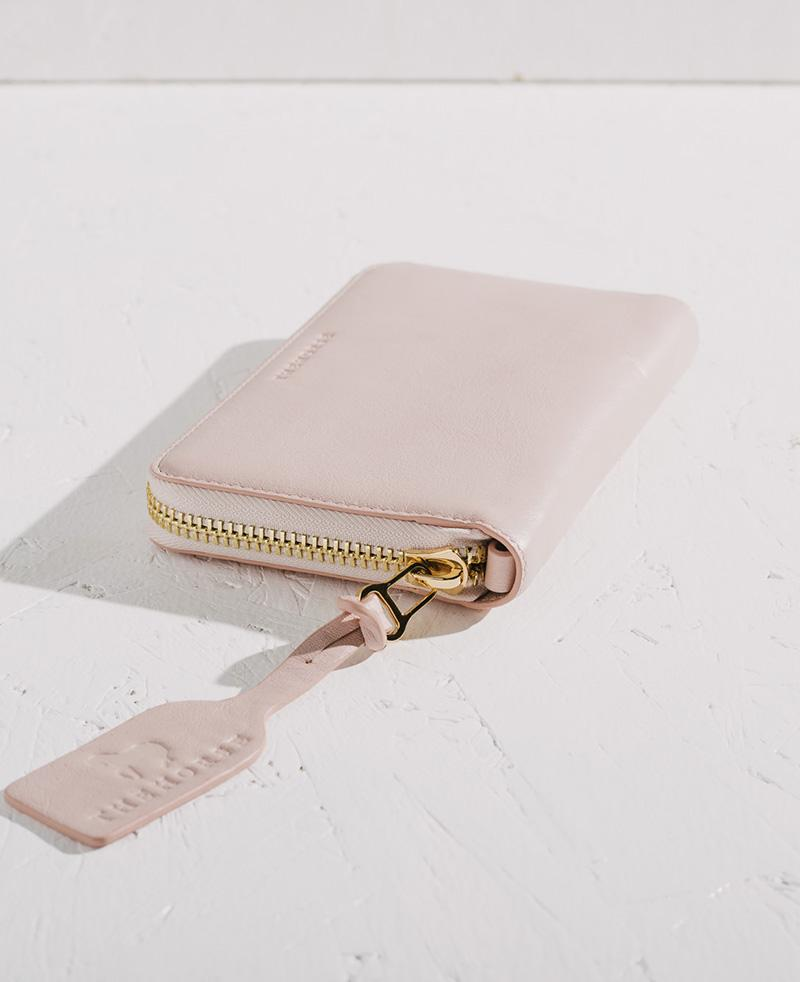 THE HORSE | BLOCK WALLET - BABY PINK