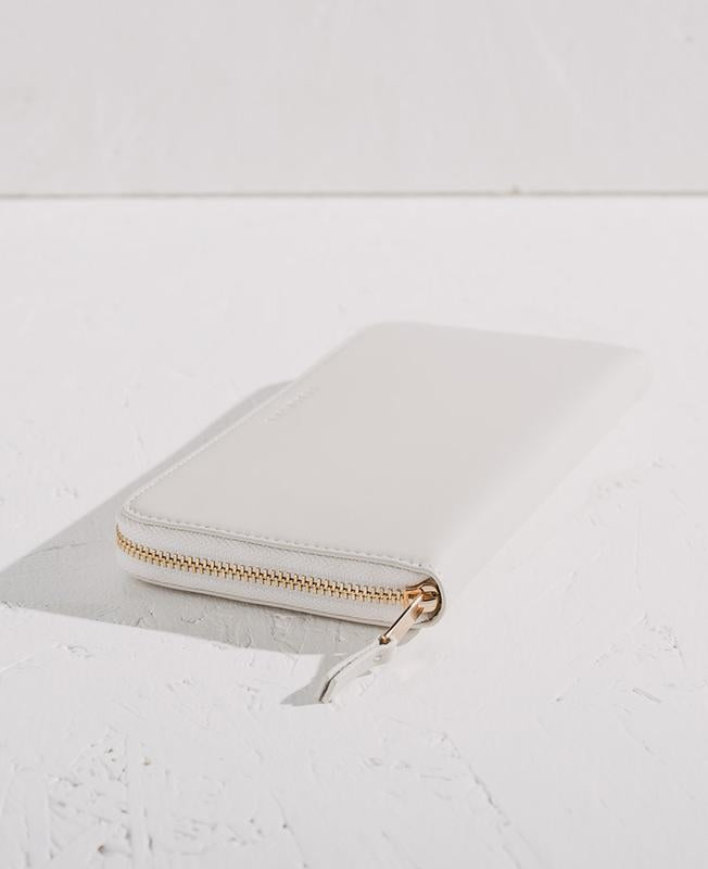 THE HORSE | SLIMLINE WALLET - OFF WHITE