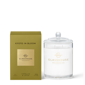 GLASSHOUSE | KYOTO IN BLOOM - 380G CANDLE