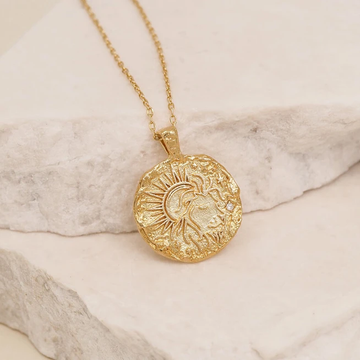BY CHARLOTTE | GOLD LEO NECKLACE