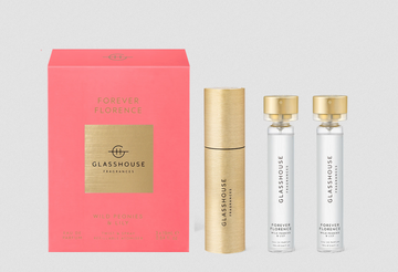 GLASSHOUSE | EDP TWIST & SPRAY REFILLABLE ATOMISER - FOREVER FLORENCE