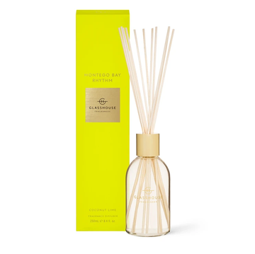 GLASSHOUSE | MONTEGO BAY RHYTHM - 250ML DIFFUSER