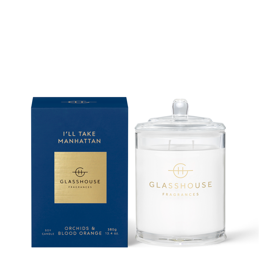GLASSHOUSE | ILL TAKE MANHATTAN - 380G CANDLE