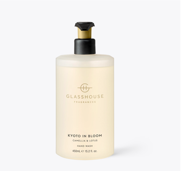 GLASSHOUSE | KYOTO IN BLOOM - 450ML HAND WASH