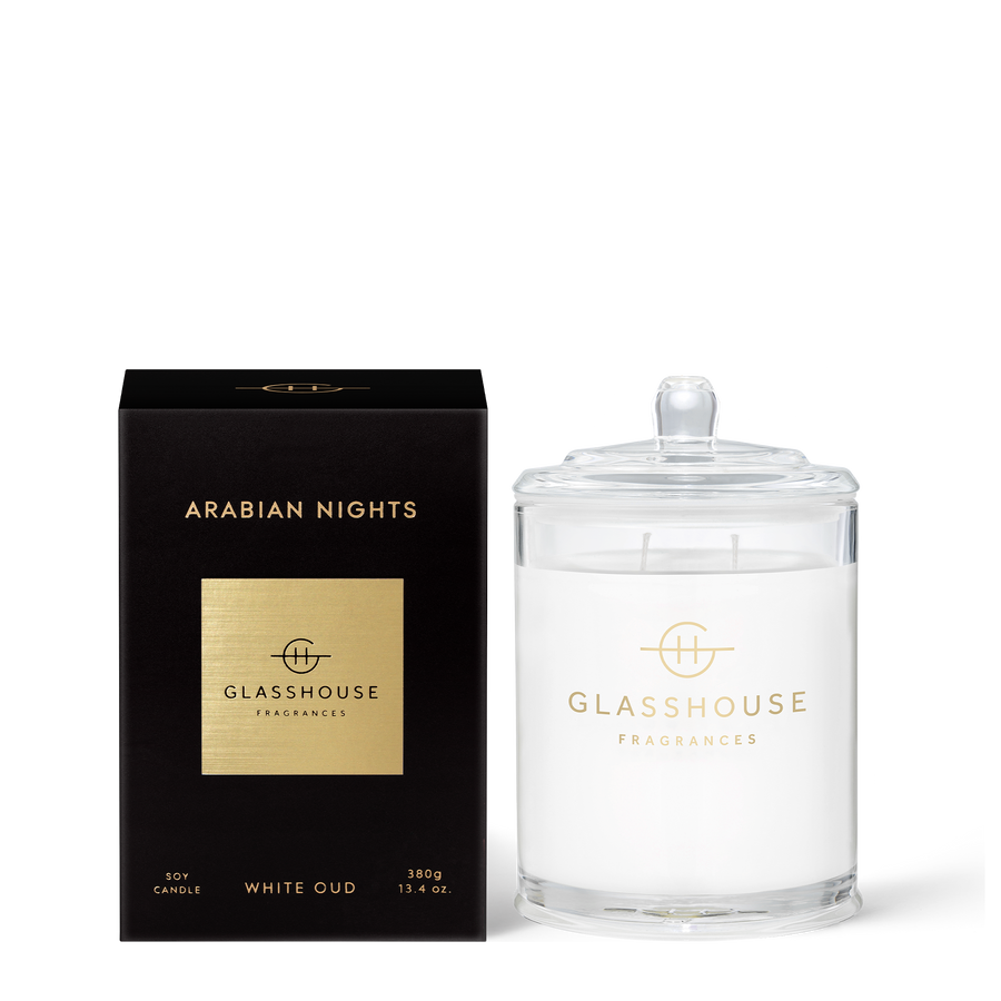 GLASSHOUSE | ARABIAN NIGHTS - 380G CANDLE