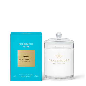 GLASSHOUSE | MELBOURNE MUSE - 380G CANDLE